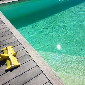 ile blanche nettoyage piscine